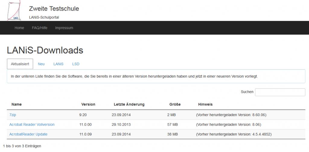 LANiS-Downloads - LANiS 3